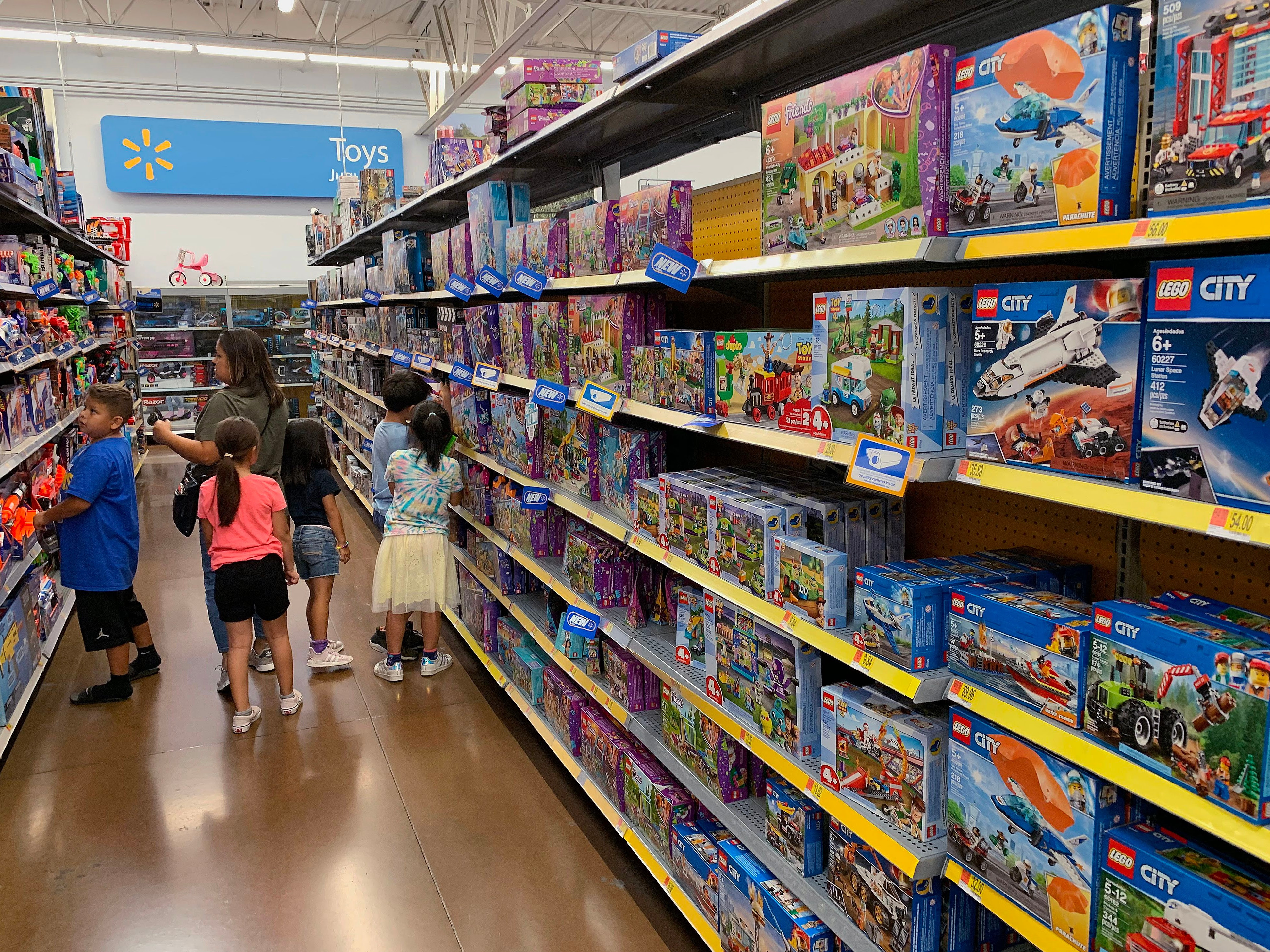 Walmart, Target ramp up competition in the toy category ...