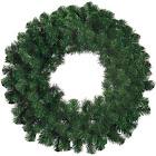 Deluxe Windsor Pine Artificial Christmas Wreath - 8-Inch Unlit