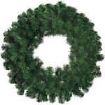 """Northlight 8"""" Deluxe Windsor Pine Artificial Christmas Wreath - Unlit"""