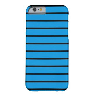 Blue Bars on iPhone 6 Barely There Case Barely There iPhone 6 Case
