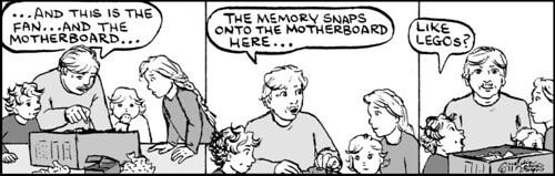 Home Spun comic strip #595