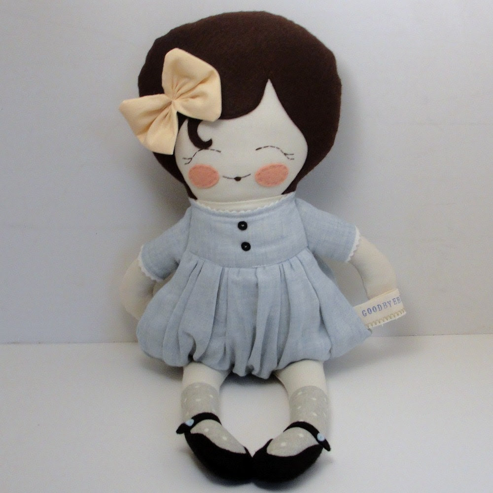 Penny - handmade cloth doll