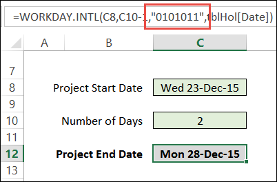 Customize Weekends With Excel WORKDAY Function « Contextures Blog