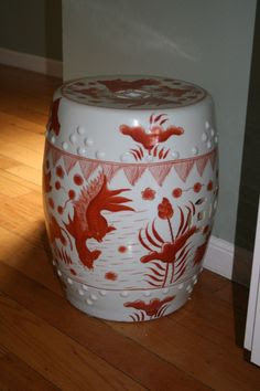 garden stools on Pinterest