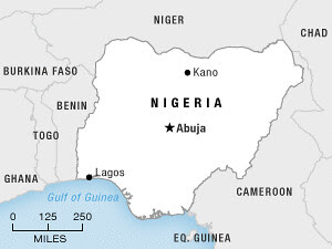 Areas in the West African state of Nigeria where violence has flared again. Dozens have been killed in sectional strife. by Pan-African News Wire File Photos