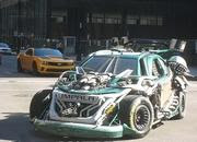 nascar transformers spotted on transformers 3 set-387870