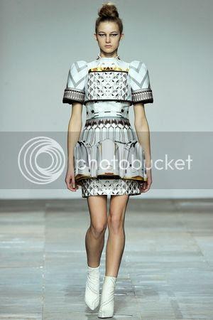 Mary Katrantzou fall winter 2012/13 runway show