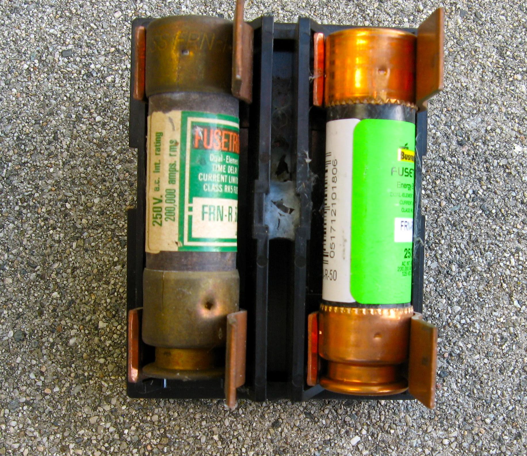 Air Conditioner Fuse Box