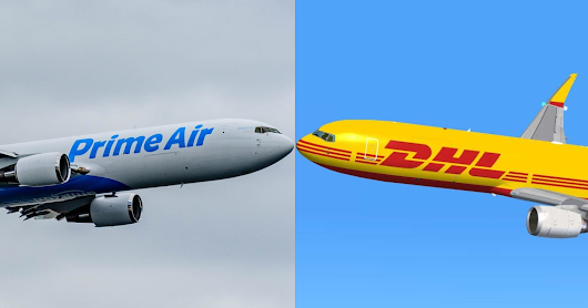 Amazon and DHL reportedly team up for Prime Air and Amazon Fresh deliveries
