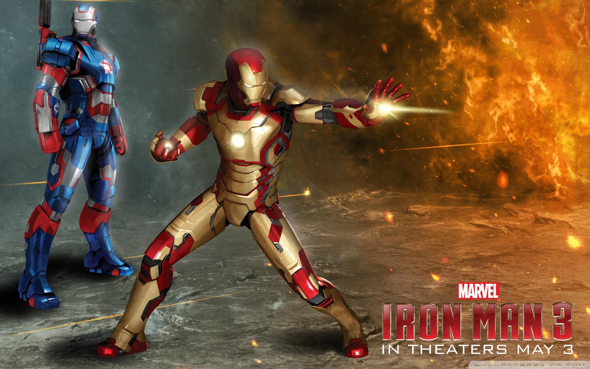 Iron Man 3 Art Wallpaper 1920x1200 28464