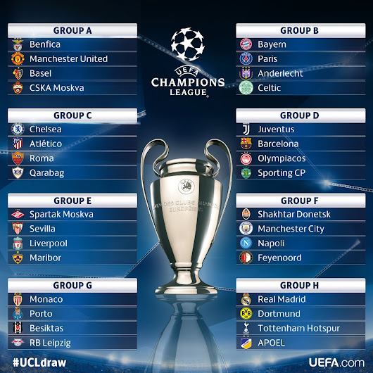 ⚽ UEFA Champions League 2017–18 season - match updates, fixtures, videos and discussiions ⚽