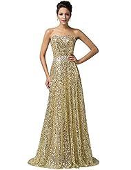 Gold evening dresses uk