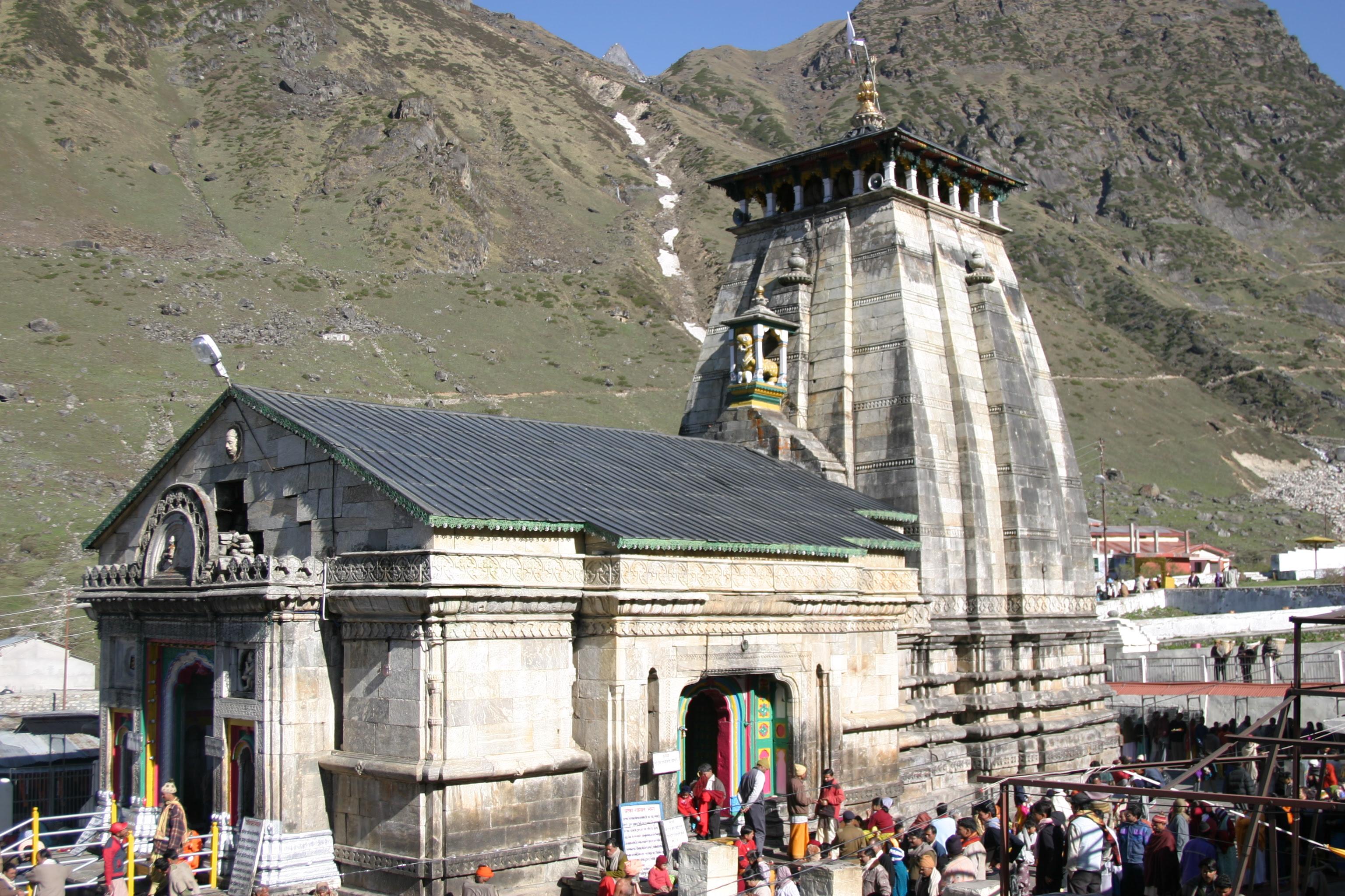 Twelve Jyotirlingas (Dwadasha Jyotirlinga) Darshana - 10. Kedarnath Temple, Uttarakhand