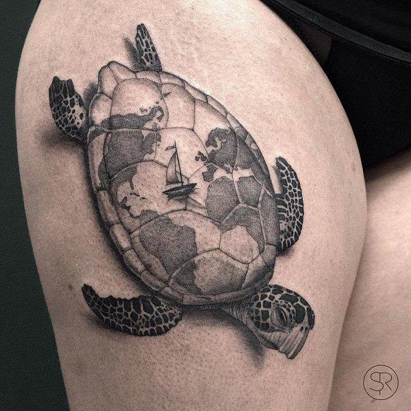 45 Turtle Tattoo Design Ideas国际蛋蛋赞