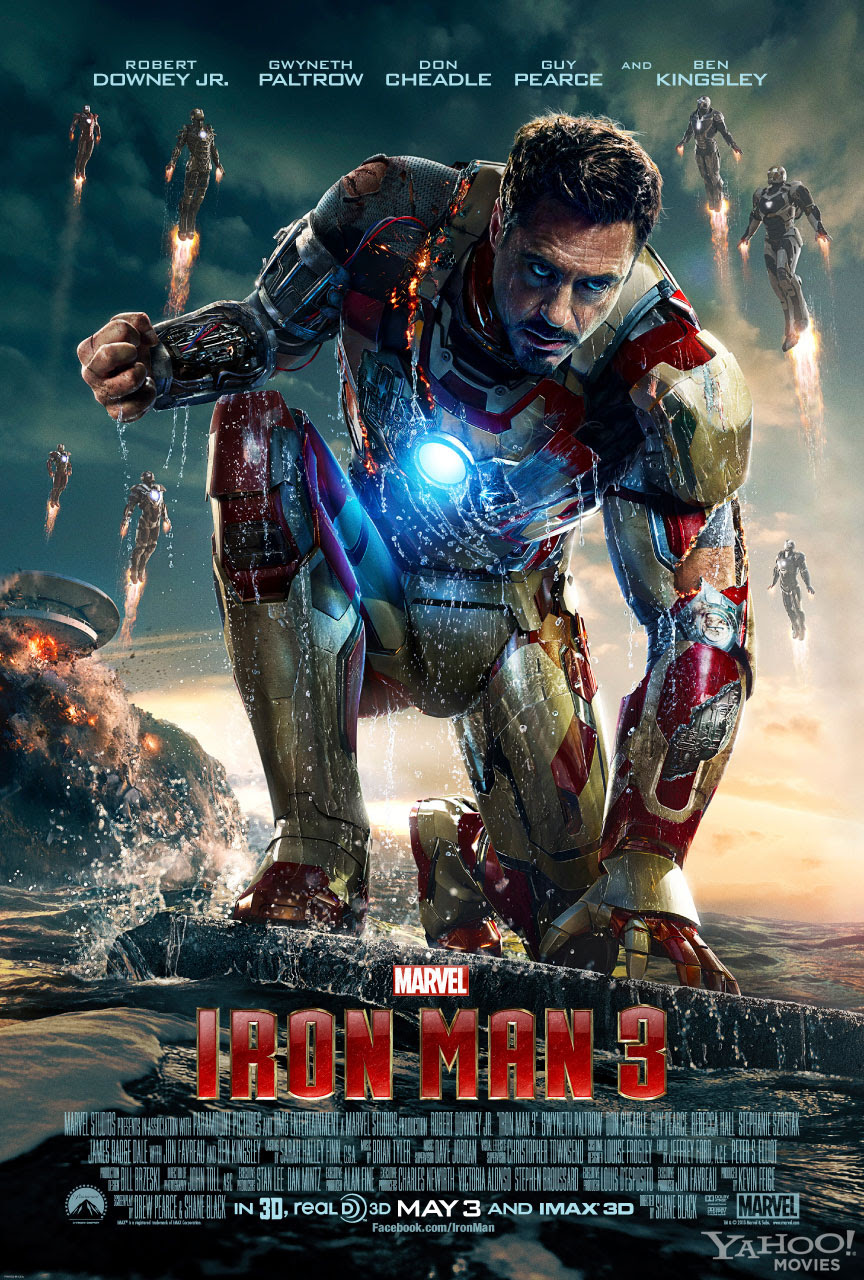 New Iron Man 3 Poster Released - SuperHeroHype