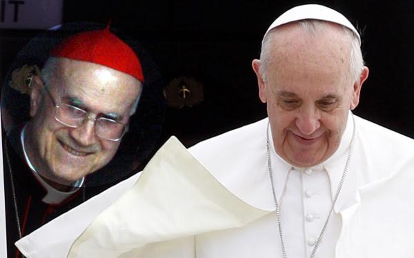 El papa Francisco reemplazó a su secretario de Estado, Tarcisio Bertone