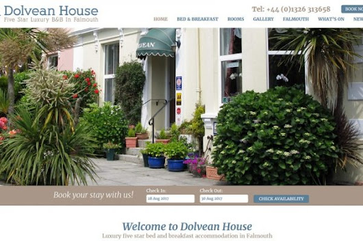 Pleased to launch our new website this weekend. www.dolvean.co.uk many thank...