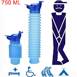 Womail 750ML Portable Adult Urinal Camping Travel Car Urination Pee Toilet Urine Help
