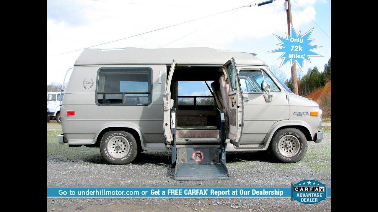 Chevrolet Handicap Accessible Van For Sale Power