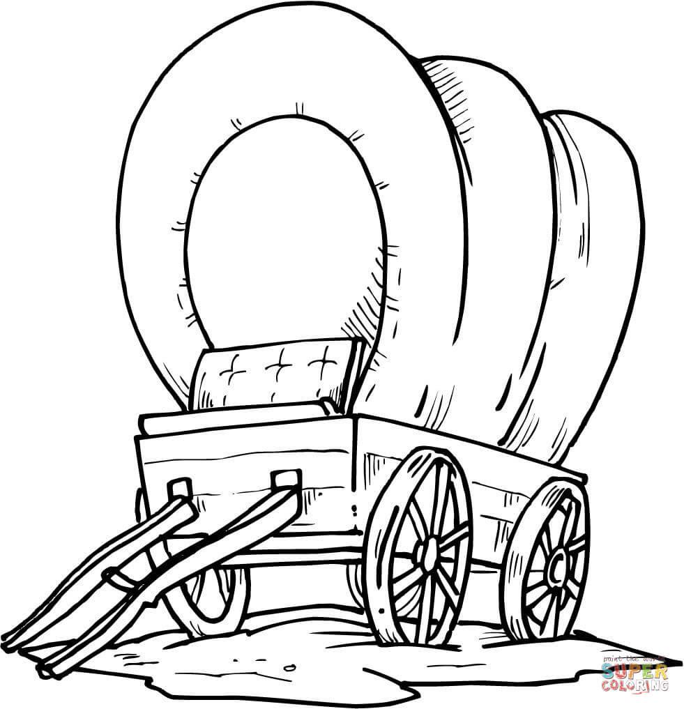 Holzplanwagen