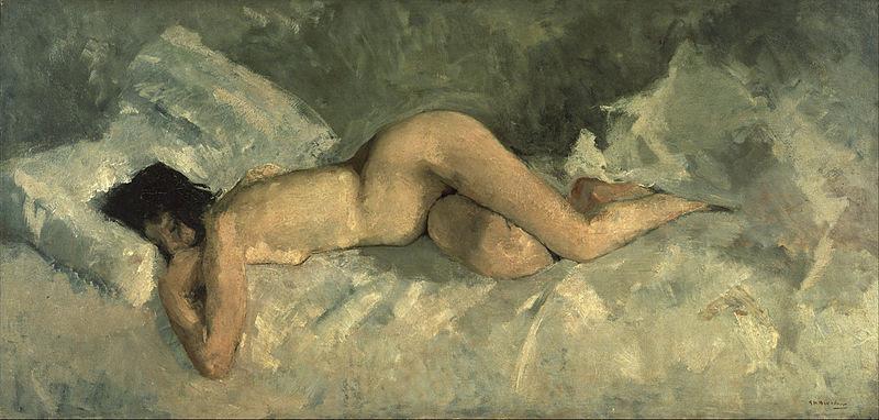 File:George Hendrik Breitner - Reclining nude - Google Art Project (28709034).jpg