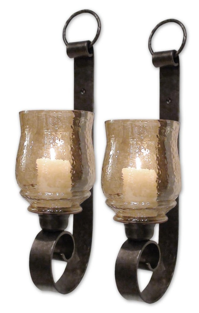 Tuscan French Country Candle Wall Sconce Set 2 Free SH | eBay