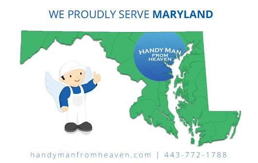 "HandymanFromHeaven on Twitter: ""Not sure if we service your area? Give us a call @ 443-772-1788 or visit   to learn more. """