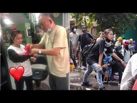 ミャンマーデモ、参加の19歳女性が頭部を撃たれ死亡、警察の銃弾ではない断言