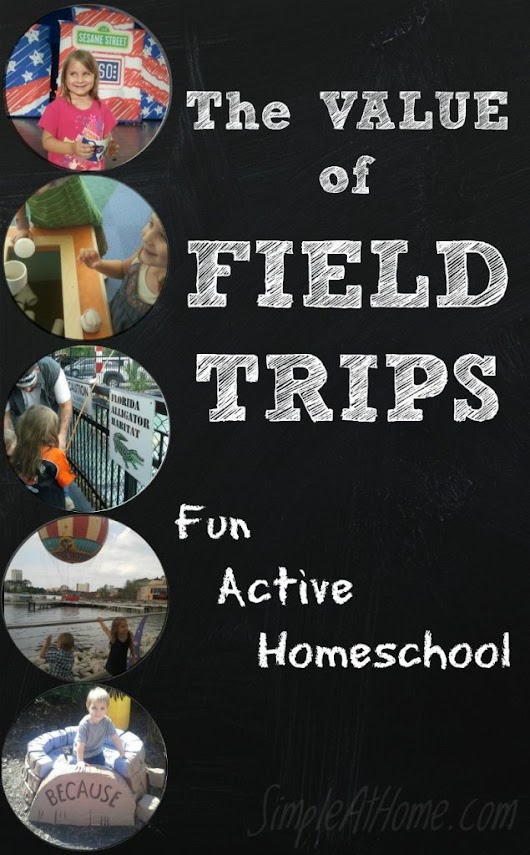 The Value of Field Trips - Simple At Home