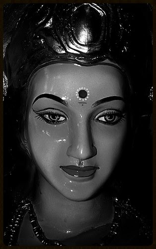Goddess Durga Hosted By A Muslim Lady Zubeida - Vakola by firoze shakir photographerno1