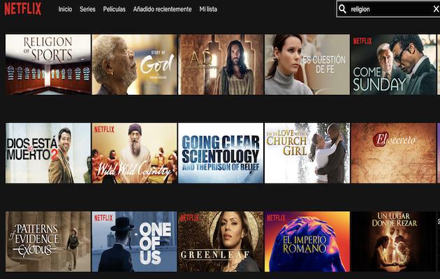 Netflix quer agradar a audiência cristã com programas de fé