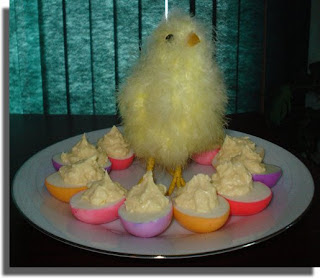 My First Devilled Eggs