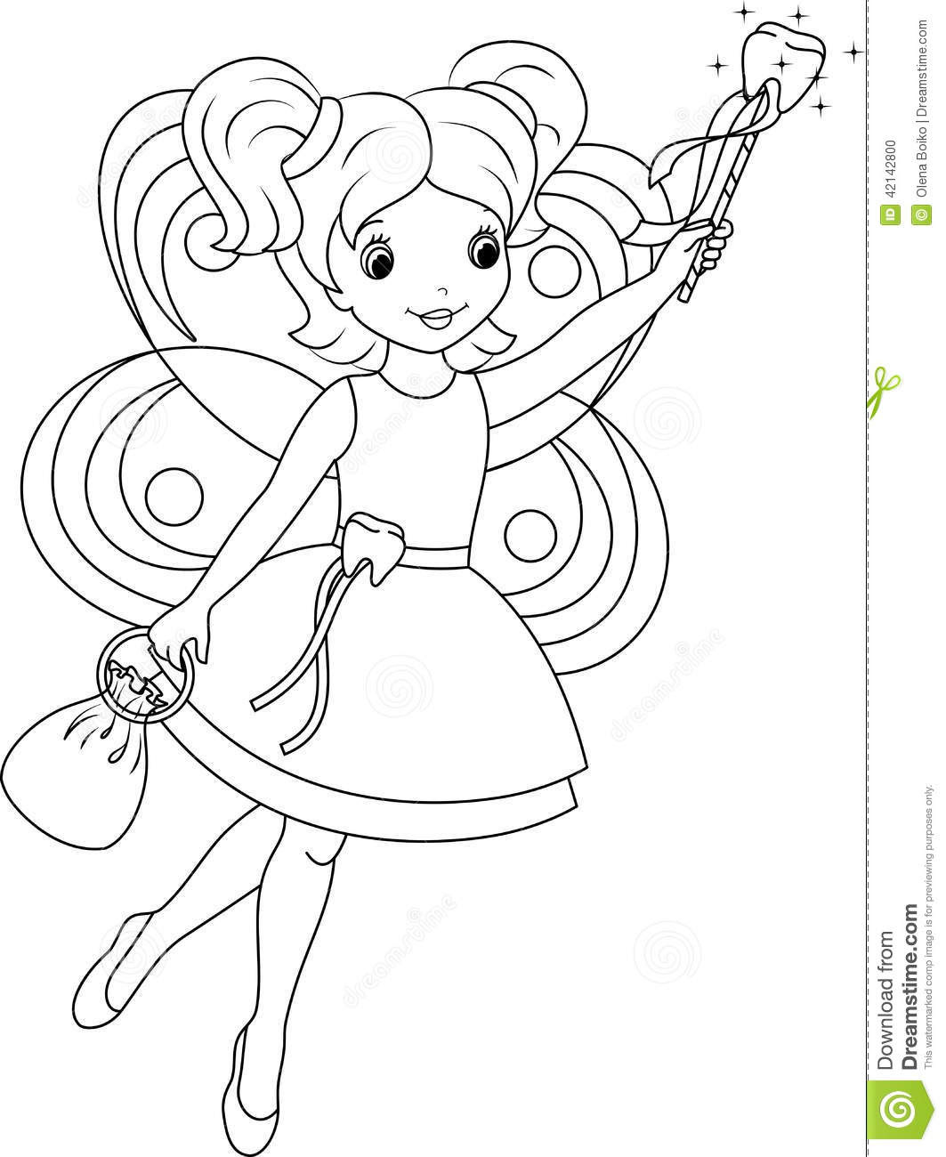 Photos - Bild - Galeria: TOOTH FAIRY COLORING PAGES