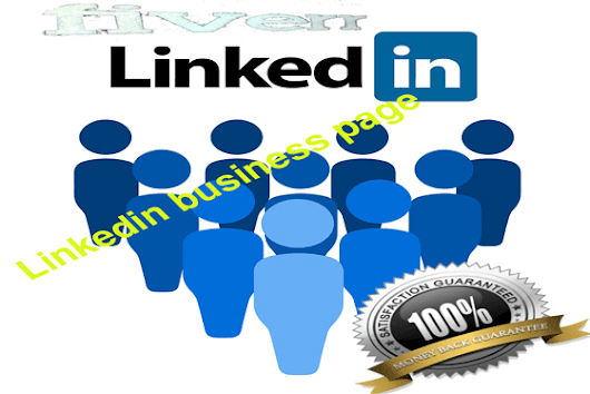 I will create linkedin business page
