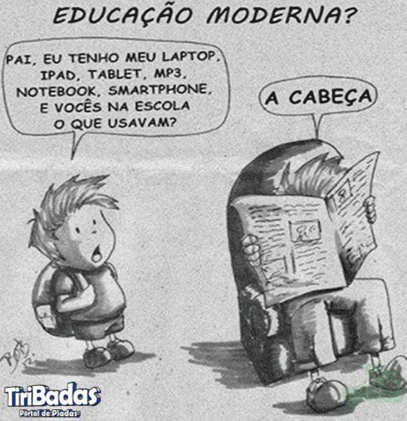 A educação moderna