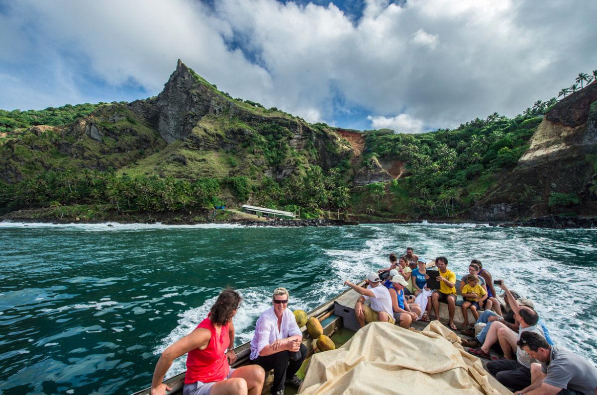 Como é viver em uma pequena ilha britânica no meio do Pacífico