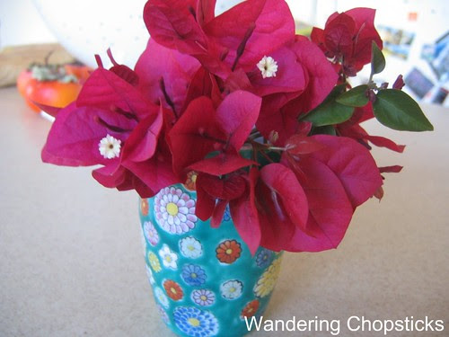 Bougainvillea, Gladiolus, and Chicago Peace Rose 7