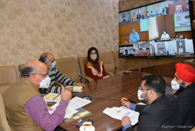 Covid-19: J&K Sees 40% Increase In Weekly Cases With 2/3rd Travellers