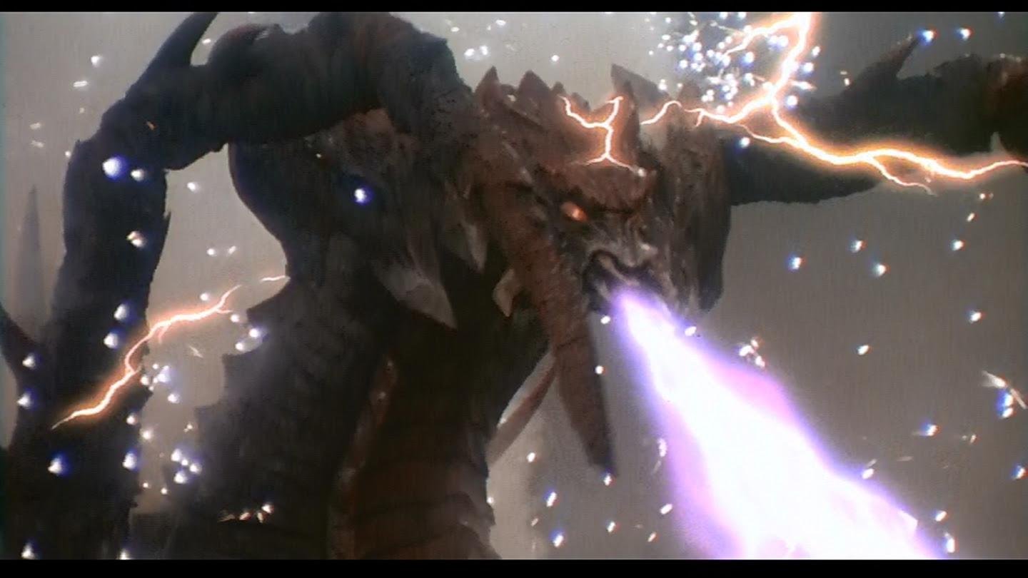 the King of the Monsters becomes the King of Explosions.