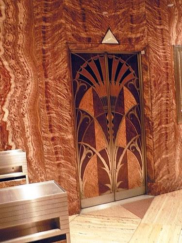 Lift Door, Chrysler Building, NYC