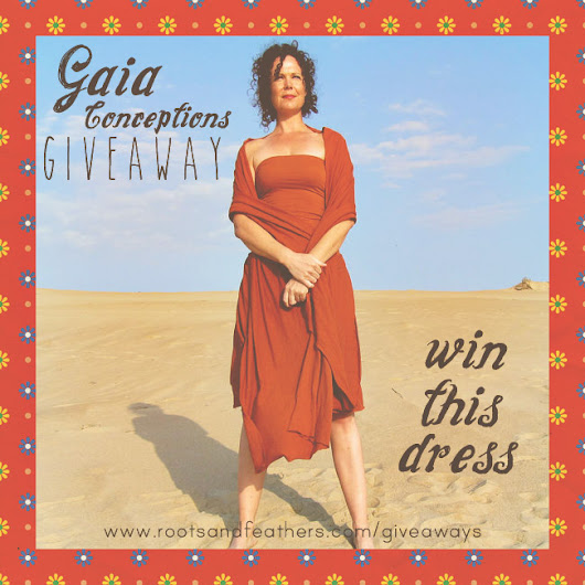 GAIA CONCEPTIONS DRESS GIVEAWAY