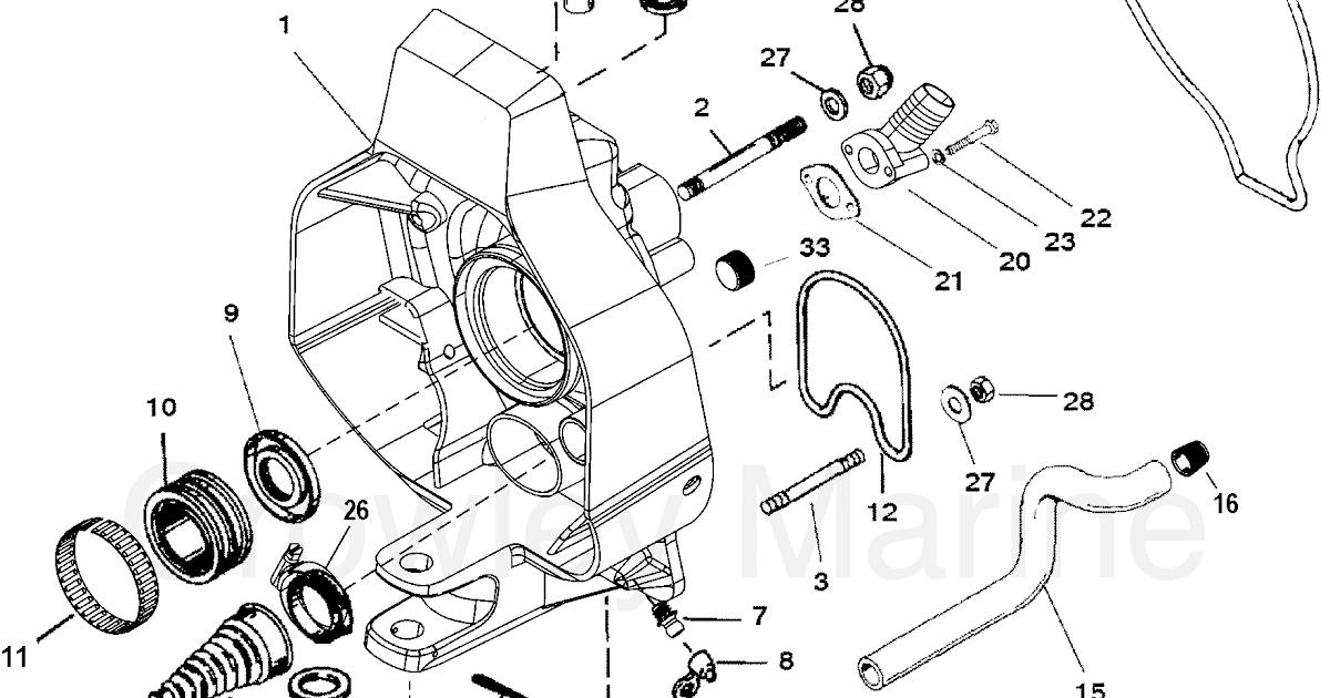 30 Mercruiser Bravo 3 Outdrive Diagram