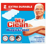 Mr Clean 04249 Magic Eraser Extra Power Cleaning Pad, 2-count