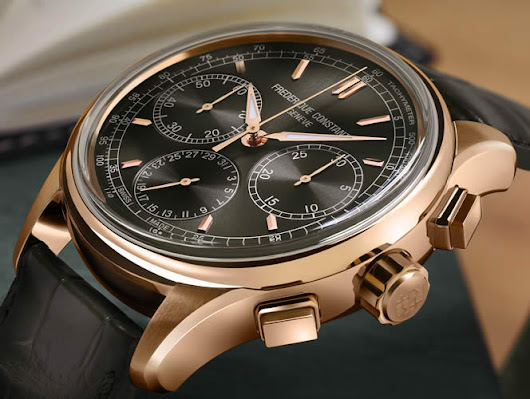 Frederique Constant Introduces Brand's First Flyback Chronograph Manufacture