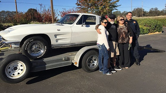 Stolen Chevrolet Corvette returned to owner after 40 years