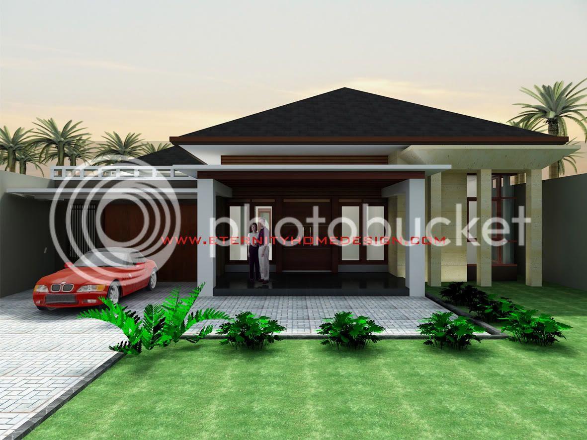 Rumah Minimalis 1 Lantai Atap Limas Desain Rumah Minimalis