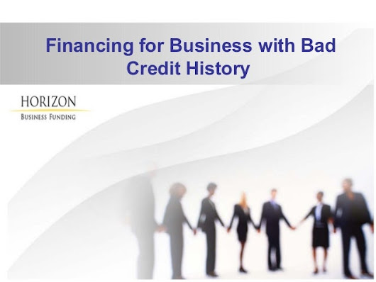 Bad Credit Business Loan for Small Business