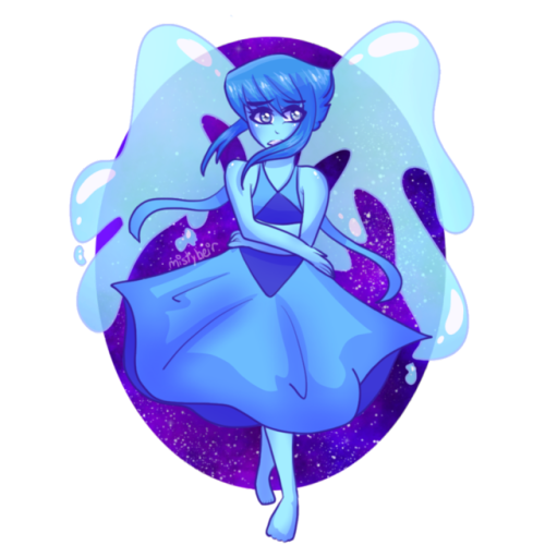 lapis is my favorite gem :'))) (check this out on my redbubble !! redbubble.com/people/mistyheir )