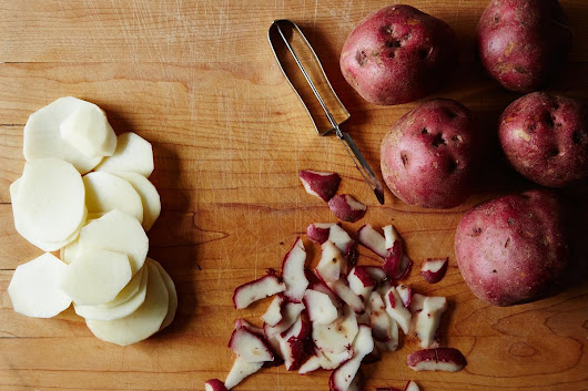 A Why-Didn't-I-Think-of-That Way to Peel Potatoes
