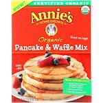 Make Annie's Organic Pancake & Waffle Mix - Case Of 8 - 26 Oz
